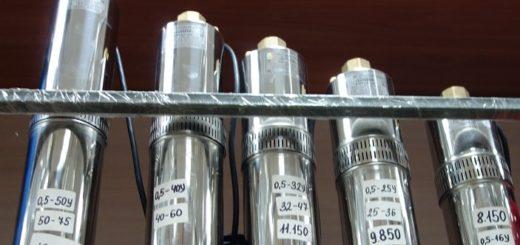 Скважинные насосы Водолей БЦПЭ фото