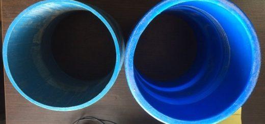 Пластиковые трубы 117 и 125 мм
